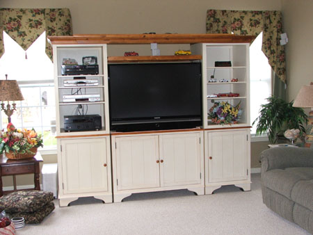 Entertainment centers for your big screen TV's
