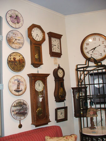 Howard Miller Clocks, Curios & More !